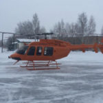 Первый собранный в России вертолет Bell-407GXP достался омскому колледжу ГА